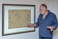 """Bild des Monats: Otto Mueller """"Akte am Ufer der Moritzburger Teiche"""", Leihgabe der Ernst von Siemens Kunststiftung"""