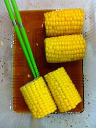 トウモロコシ レシピ 焼きモロコシ 簡単