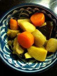 干し椎茸 里芋 煮物