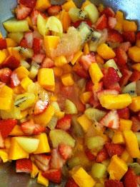 イチゴ マンゴー グレープフルーツ キウイ レシピ