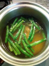 インゲン ジャガイモ 味噌汁 レシピ