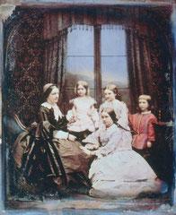 Studioportrait um 1845 von Antoine Claudet