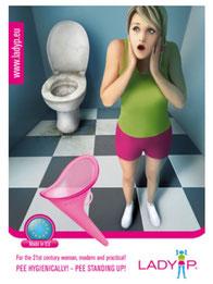 LadyP Lady P Urinierhilfe stehen Aufbewahrungsbeutel komfortabel cuptime comfort up your life