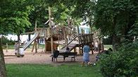 Kinderspielplatz Seepromenade Starnberg am Starnberger See in Bayern