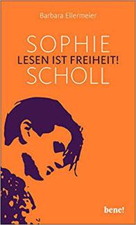 Texte und Zeichnungen von Sophie Scholl in einer neune Zusammenstellung von Barbara Ellermeier. Lesen ist Freiheit! Sophie Scholl - Ein berührendes Buch über die lebensverändernde Kraft guter Texte #Bücher #Bücherverbrennung #Hitler #Scholl #weisseRose