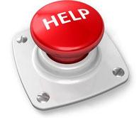 Inviaci una email per ricevere un aiuto.
