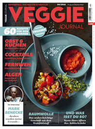 Vitaquell – Cover, Veggi Journal - Ausgabe August 2016