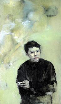 以我们的心情回忆 REPRESENT 145X85CM 布面油画 OIL ON CANVAS 2006 (收藏于上海 COLLECTED IN SHANGHAI)