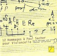 CD: Heinz Wolliger. Troels Svane spielt 'Chaconne für Violoncello solo'.