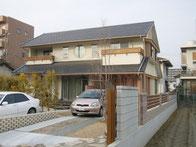 京タイルの家