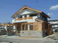 岡山 洲崎の切妻の家