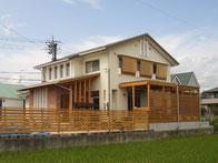 津山 暖炉のある家