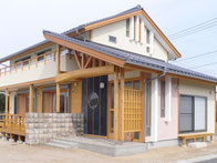 岡山の木の香る家