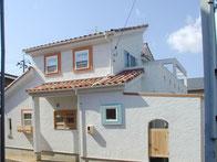 南欧風 別荘風の家