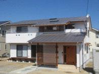 岡山 リビングが中心の家