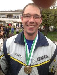 Laurent CHERPILLOD avec une bien belle médaille de bronze à la Finale du championnat individuel vaudois 2013