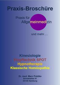Praxisbroschüre Dr. Marc Fiddike