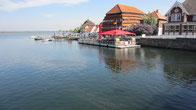 Neustadt in Holstein, eine historische Stadt, direkt an der Ostsee ...