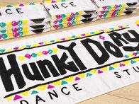 ハンキードーリーダンススタジオオリジナルTシャツBLACK×BLACK