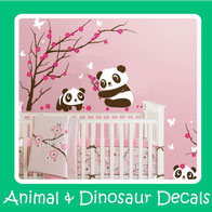 wall decals-wall stickers-animals-dinosaurs