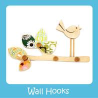 Wall Hooks- Wooden Wall Hooks