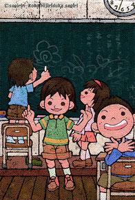 聖柄さぎり画像 教室 学校