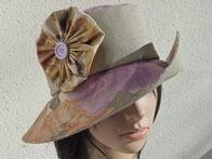 chapeau de pluie toile enduite