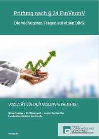 Broschüre - Prüfung nach § 24 FinVermV