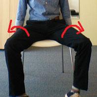 腰痛の奈良県香芝市の男性