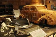 トヨタの歴史を広大な展示で再現