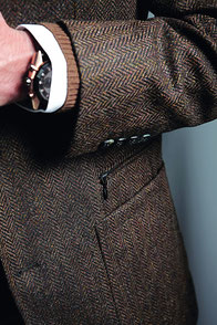 Tweed Sakko Montanus Aachen Herrenausstatter