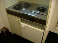 キッチン&冷蔵庫