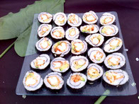 Petits sushis cuits