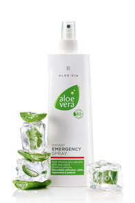 emergency spray, meilleur produit naturel désinfectant, aloe vera, plante médicinale