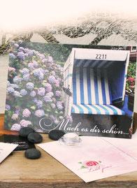 Lichtgarten Licht-Garten Postkarten Bücher Simone Fischer