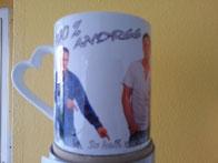 Tasse mit ihrer Werbung 10,00 €