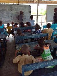 Wiederaufnahme des Unterrichtes in der DYARAMA SCHULE