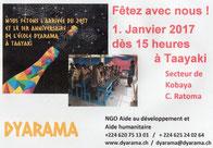 Flyer Schulfest und Neujahrsfest