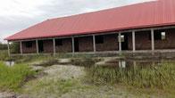 Schulhausbau DYARAMA, Rohbau fertig