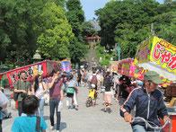 上野公園の賑わい