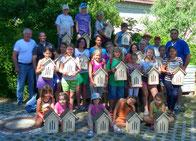 Bau Schmetterlingshaus