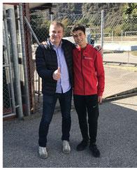 Erich und Raphael am Ticino-Cup 2018
