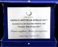 Premio Migliore Attrice Protagonista Stefania Gentile – Compagnia Teatrale i Frastornati