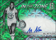 AL ATTLES / In the Zone - No. IZ-AAT  (#d 32/35)