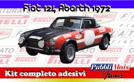 FIAT 124 ABARTH RALLY  '72-73'