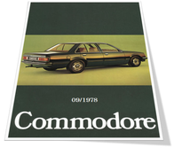 Opel Commodore C Prospekt August 1978 Hölländisch