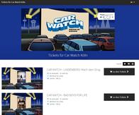 CAR WATCH Autokino Köln Ticketshop
