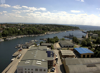Neustadt Hafeneinfahrt