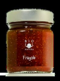 Erdbeerkonfitüre Extra aus Sizilien BIO 250g biosolnatura Kaufen, Confettura Extra di fragole di Sicilia BIO 250g