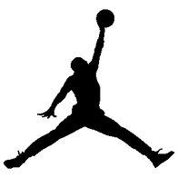 "Le ""jumpman"", logo de la marque Jordan Brand"